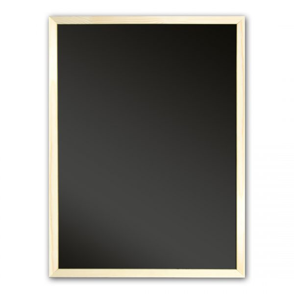 Грифельная доска в рамке (черная)