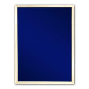 Грифельная доска в рамке (синяя)